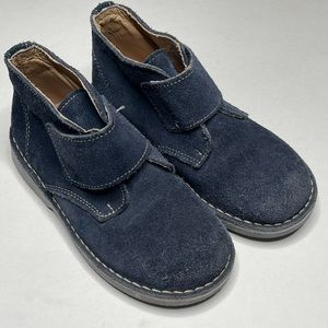Kid Express Maddox Navy Suede Casual Shoes Easter